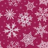 Snowing bezszwowy tło ilustracja wektor