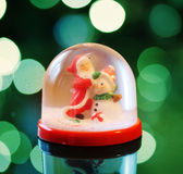 Snowing dome Stock Photography