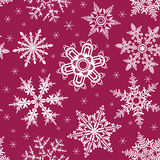 Snowing seamless background Stock Photography