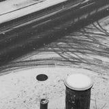 Snowing urban Royalty Free Stock Image