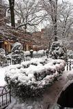 Snowing winter at Boston, Massachusetts, USA. Stock image of a snowing winter at Boston, Massachusetts, USA stock photos