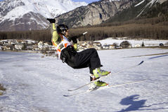 snowkite 免版税图库摄影