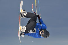 Snowkiting Stock Photography