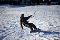 Free Snowkiting In St.Moritz Stock Images - 12095874