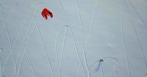 Snowkiting no norte filme
