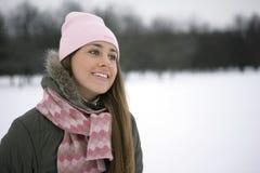 snowkvinna Arkivbilder