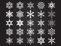Snowlakes Fotografia Royalty Free