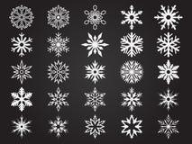Snowlakes Obrazy Royalty Free