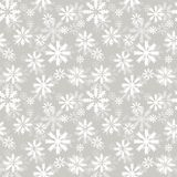 Snowlakes pattern Royalty Free Stock Photography