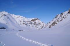 Snowland de Xinjiang Imagen de archivo libre de regalías