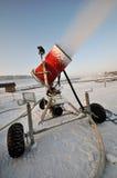 Snowmaker Stockbild