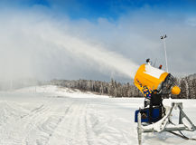 Snowmaker Royalty Free Stock Photography