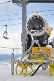 Snowmaking maszyna Obraz Stock