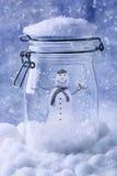 Snowmam Photographie stock libre de droits
