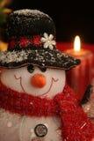 snowman świąteczne Zdjęcia Royalty Free