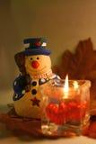 snowman świąteczne Obraz Royalty Free