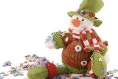 snowman świąteczne Zdjęcie Stock
