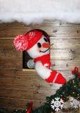 snowman świąteczne Obraz Stock
