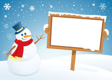 Free Snowman Stock Images - 11035384