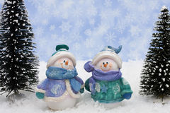 snowman Arkivfoton