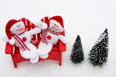 snowman 免版税库存照片