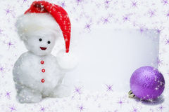 snowman Royaltyfria Foton