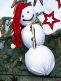 Snowman. On the Christmas market Royalty Free Stock Photos