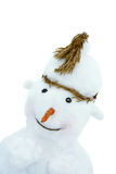Snowman. The snowman made small children Stock Photo