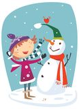 Snowman Royalty Free Stock Photos
