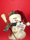 snowman στοκ φωτογραφία με δικαίωμα ελεύθερης χρήσης