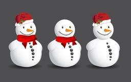 snowman Royaltyfria Bilder