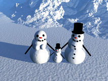 Snowman 18 Stock Images
