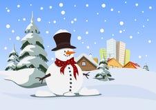 Snowman vector illustration