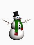 Snowman. Royalty Free Stock Photo