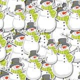 Snowman Royaltyfri Foto