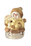Snowman. Christmas decoration for display Royalty Free Stock Photo