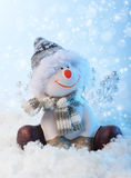 Snowman. Royalty Free Stock Photos