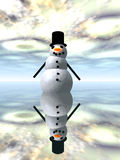 Snowman 3 vector illustration