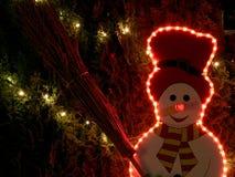 snowman Royaltyfri Bild