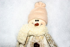 Snowman. Cute little snowman stock images