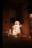 snowman στοκ εικόνα