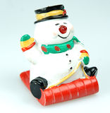 Snowman. Christmas decoration Royalty Free Stock Photos