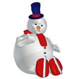 Snowman . 5 Stock Photo