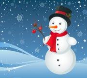 Snowman Royalty Free Stock Photos