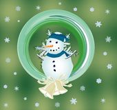Snowman, Stock Image