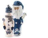 Free Snowman And Santa Stock Photo - 7015670