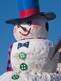 Snowman in Bavaria Royalty Free Stock Photos