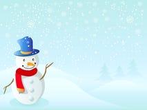 Snowman for christmas Stock Image