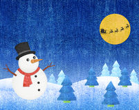 Snowman Christmas Royalty Free Stock Photos