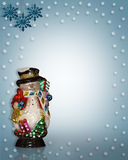 Snowman Christmas  Royalty Free Stock Photo